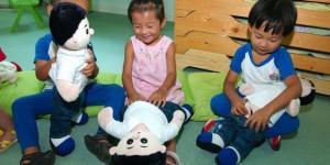 anak belajar organ intim
