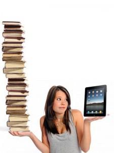 Baca buku atau main ipad?