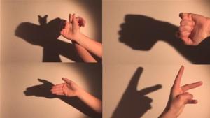bermain bayangan
