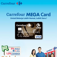 Lumayan deh belanja bulanan pakai kartu kredit.