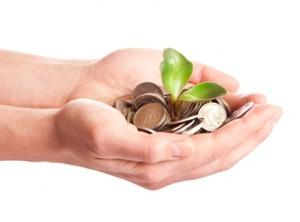 Dalam deposito, uang dapat tumbuh dan berbunga.