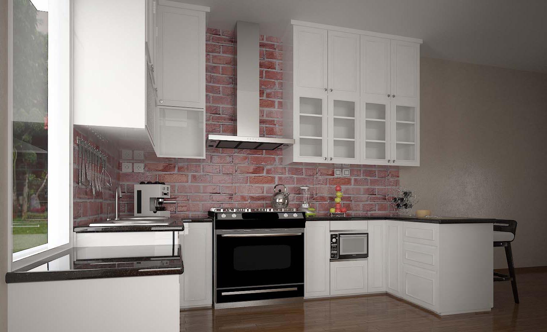 renovasi dapur murah