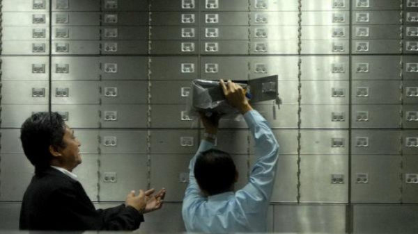 safe deposit box bank yang paling aman