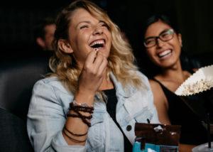 Ilustrasi Penonton Film Indonesia (Shutterstock)