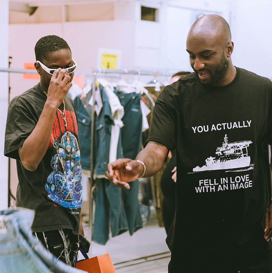 Founder dan CEO Off-White, Virgil Abloh. (Instagram/@virgilabloh)