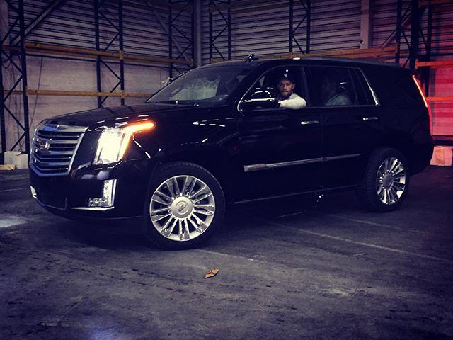 Cadillac Escalade McGregor (IG thenotoriousmma)