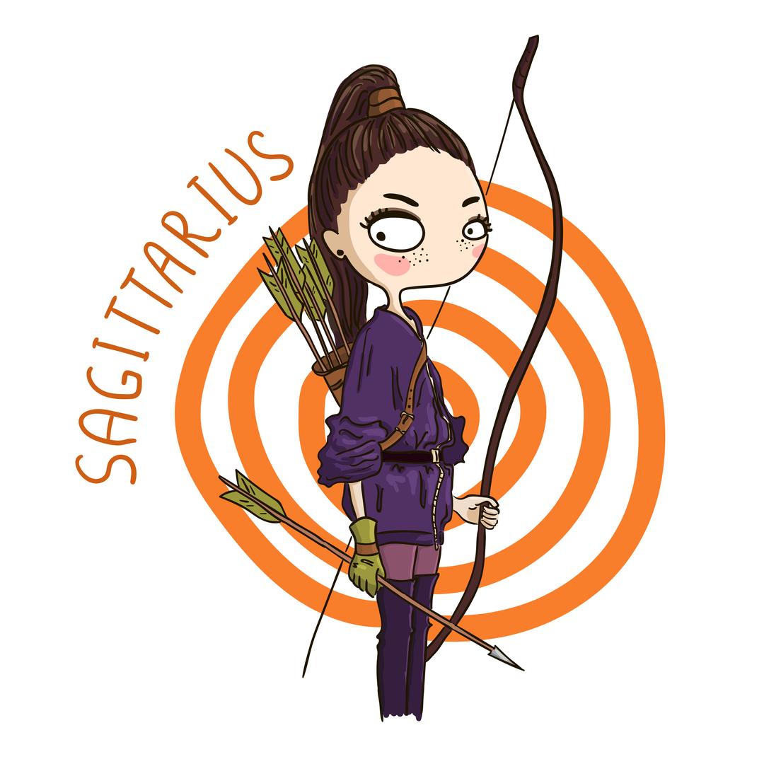 Zodiak Sagitarius.