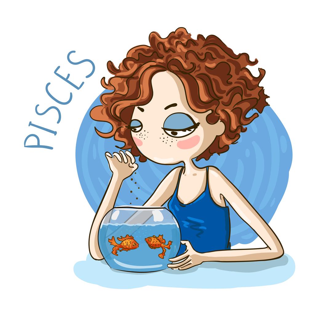Zodiak Pisces.