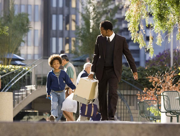 Salah satu adegan di film Pursuit of Happiness. (IMDB/Columbia Pictures Industries/ Zade Rosenthal)