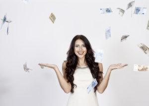 Hujan uang. (Shutterstock)
