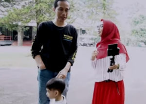 Cucu Presiden Jokowi (YouTube Ria Ricis)