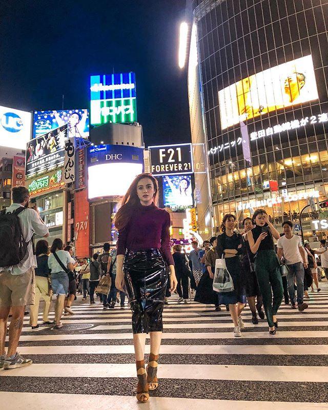 Dylan Sahara saat travelling ke Tokyo Jepang (IG dylan_sahara)