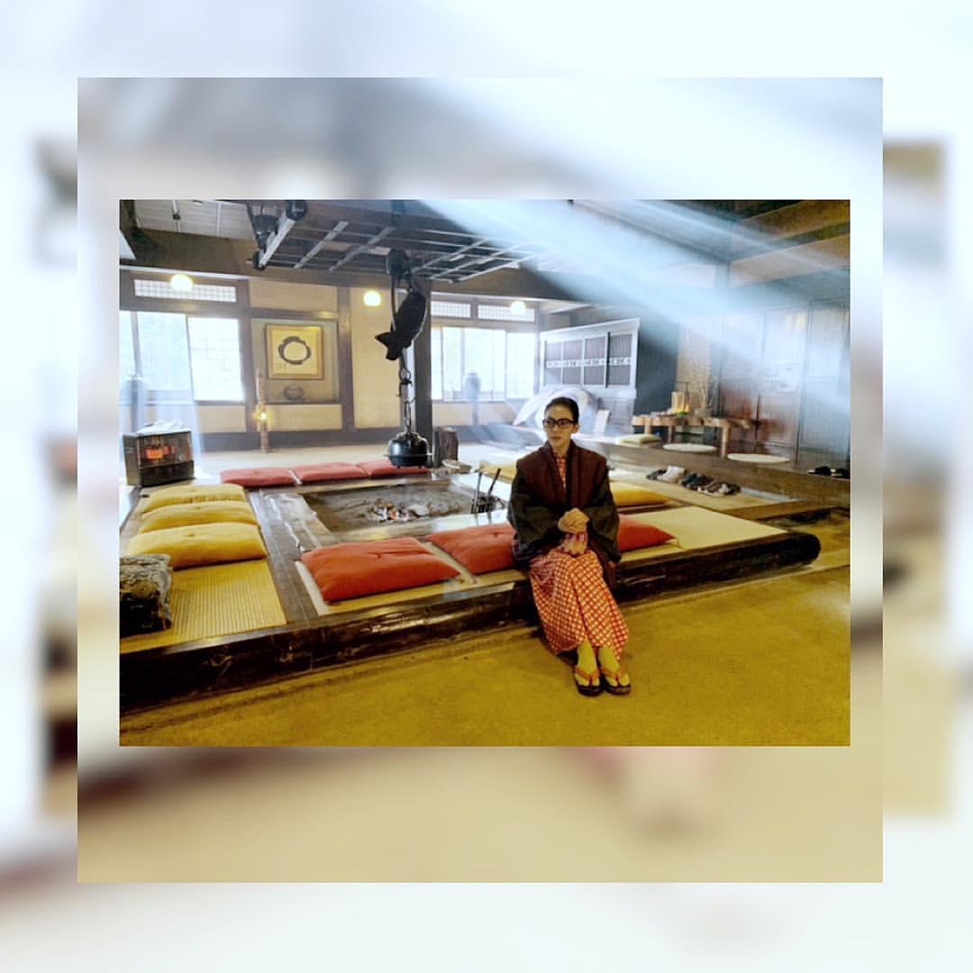Liburan Syahrini menginap di sebuah ryokan. (Instagram/@princessyahrini)