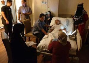 Ustadz Arifin Ilham tengah terbaring sakit (IG lambe_turah)