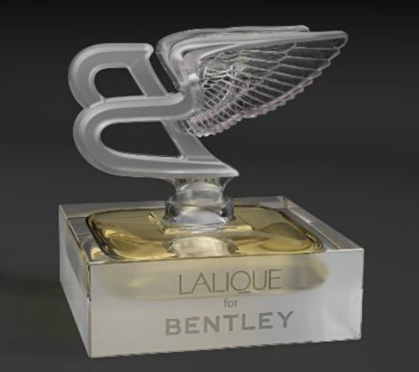 Parfum pria Lalique for Bentley. (Pouted.com)