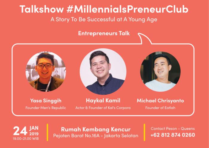 Millennial Entrepreneur Club. (MoneySmart)