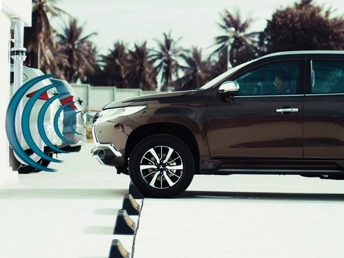 Fitur keselamatan Mitsubishi Pajero Sport. (Mitsubishi-motors.co.id)