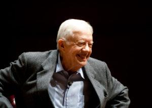 Jimmy Carter, mantan presiden AS yang punya model rumah sederhana. (Shutterstock)