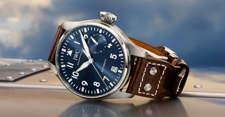 Jam tangan IWC Big Pilot milik John Mayer. (precisionwatches.com)