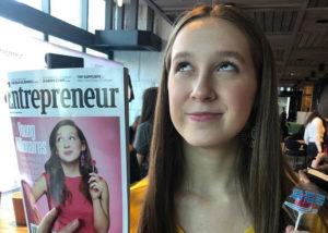Alina Morse, bocah 13 tahun yang jeli lihat peluang bisnis usaha permen sehat. (Instagram/@zollicandy)