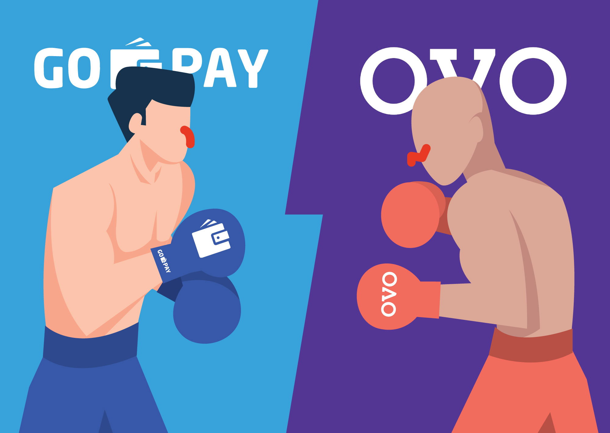 Promo Go-Pay Vs OVO. (MoneySmart)