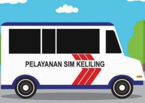 Perpanjang SIM keliling online (Instagram/@simonlineid)