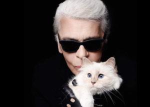 Karl Lagerfeld beri warisan untuk kucingnya