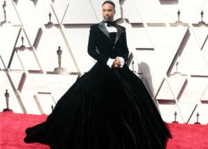 Penampilan Billy Porter di Oscar 2019 (Harpersbazaar.com)