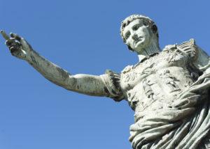 Julius Caesar, contoh pemimpin yang baik. (Shutterstock)