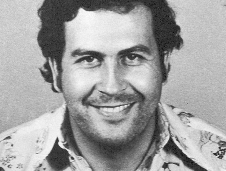 Pablo Escobar. (Wikimedia Commons/Colombian National Police)