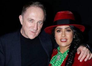 Francois-Henri Pinault bersama istri Salma Hayek (Instagram).