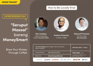 Talkshow Seruput Massal. (MoneySmart)