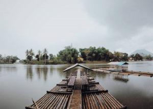 Situ Cangkuang, objek wisata Garut (Instagram).