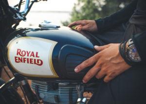 Royal Enfield meluncurkan sepeda motor baru dengan mesin dua silinder di ajang IIMS 2019 (Shutterstock).