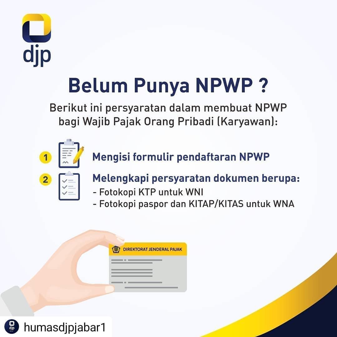 cara membuat npwp onlikne