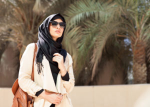 Ilustrasi Fashion Muslim (Shutterstock)