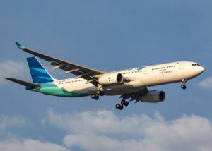 Pesawat Garuda Indonesia (Shutterstock)