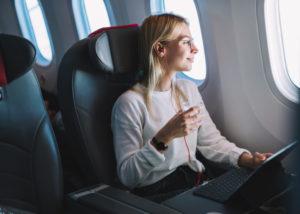 Ilustrasi Penumpang Pesawat Terbang (Shutterstock)
