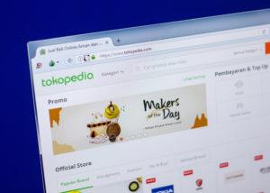 Aplikasi Tokopedia (Shutterstock)