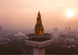 Ibukota Jakarta Pusat Bisnis (Shutterstock)