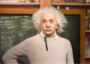Albert Einstein salah satu orang sukses yang kaya raya (Shutterstock).