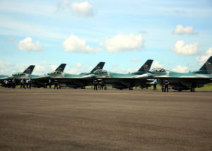 Pesawat F-16 Indonesia (TEMPO).