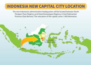 Ibu Kota Baru Indonesia (Shutterstock)